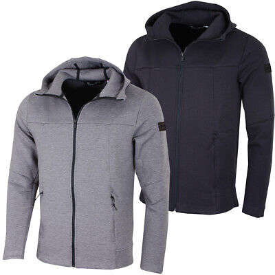 59567963a NWT MENS UNDER Armour Sportstyle Pique Training Full Zip Track ...