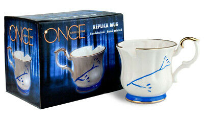 Once Upon A Time Collectible White Chipped Ceramic Replica Mug