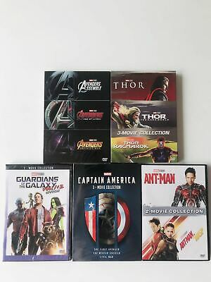 Marvel Lot Movie Avengers & Captain America & Thor & Ant Man & Galaxy Collection