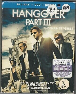 """Used  Blu-Ray - """"  The Hangover Part 3 """""""