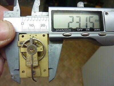 Old French Carriage Clock Platform Escapement--Spares Or Repair (C) Free Post