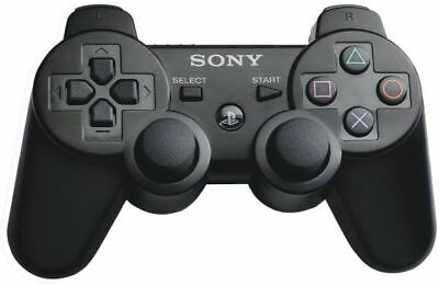 Sony PS3 Wireless Dualshock 3 Controller  Black NEW