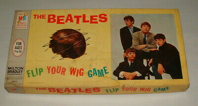 1964 The Beatles Flip Your Wig Game Complete In The Box