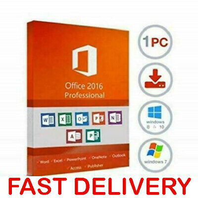 Microsoft Office Professional Plus 2016 License Key/MS Office 2016 Pro Key