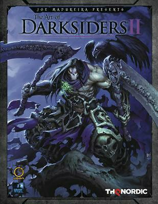 Art of Darksiders Ii by Thq Hardcover Book Free Shipping!