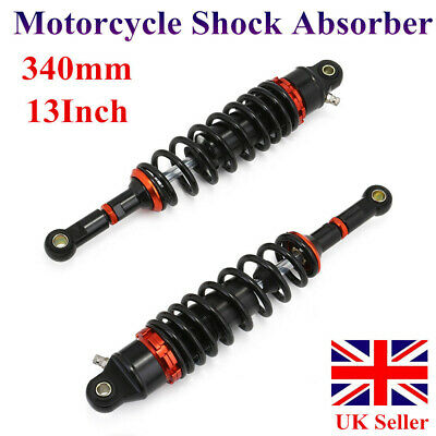 "13.5"" 340mm Eye to Eye Rear Shock Absorber Suspension For Suzuki Kawasaki KTM UK"
