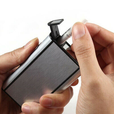 High Quality Aluminium Automatic Ejection Cigarette Dispenser Case Box Holder