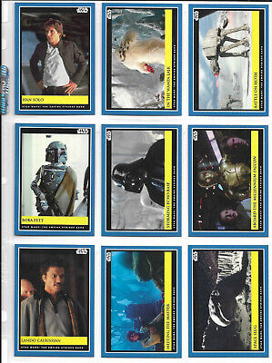 Topps Star Wars Countdown Episodio 9 Empire Contraataca Dorso Juego 18 Semana