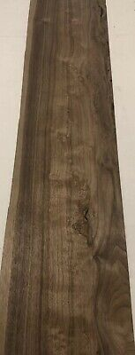 "Walnut Wood Veneer. 1/16"" Thick. 3 Sheets (37"" X 8.5"") 6.5 Sq Ft"