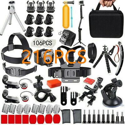 GOPRO HERO Camera Accessories For GoPro Hero7 6 5 4 Action Sports Video Cam Kit