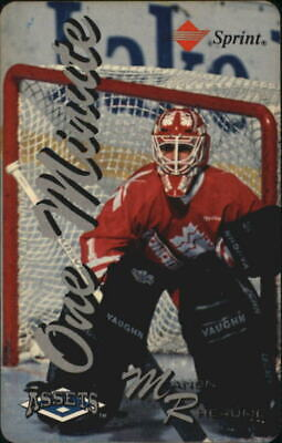 1994-95 Assets Phone Cards One Minute #18 Manon Rheaume