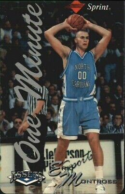 1994-95 Assets Phone Cards One Minute/$2  #14 Eric Montross