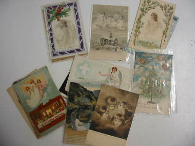 25 Older Angel Postcard Lot