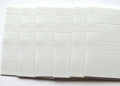 12 x U-Craft Self Adhesive Double Sided Sticky Foam Pads 5x5x3mm 200457