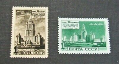 nystamps Russia Stamp # 1521.1523 Mint OG H $63