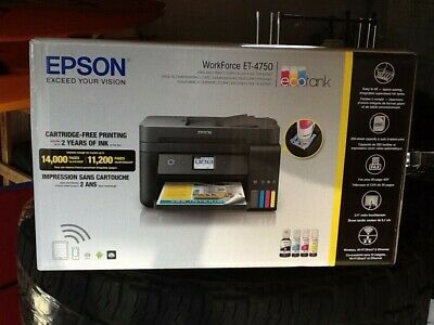 EPSON WORKFORCE ET-4750 EcoTank Wireless Color All-in-One