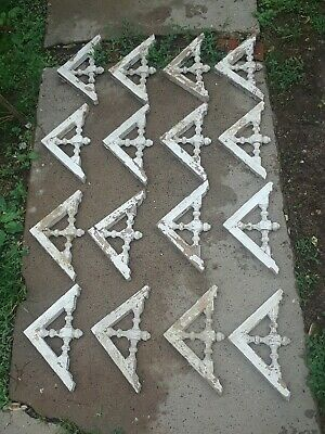 16 VICTORIAN gingerbread CORBEL brackets FANCY detail