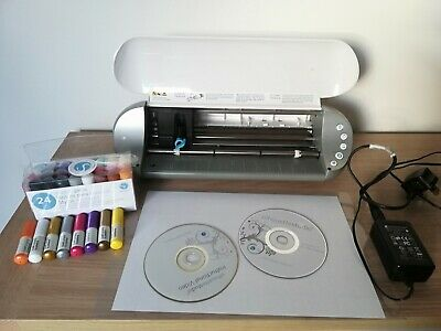 Silhouette Portrait Machine Package Includes Blade, Cutting Mat and Sketch Pens