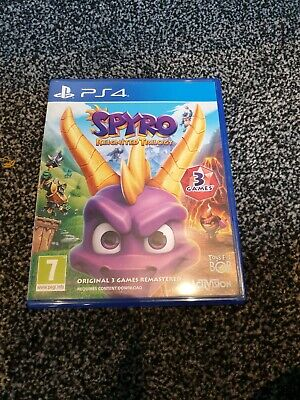 Spyro Reignited Trilogy Sony Ps4 Game