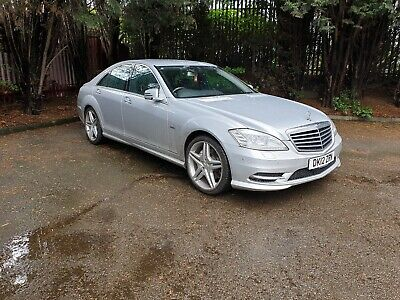 2012 Mercedes Benz S350 Amg Sports Package Bluetec Cdi Auto Silver Diesel