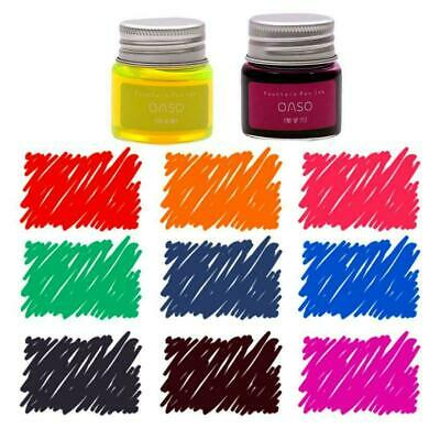 Calligraphy Ink Fountain Pen Ink Bottle 20ml 7 Colors Optional