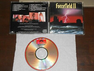 FORCEFIELD II The Talisman CD Japan 11 tracks Polydor P32P-20186 Cozy Powell