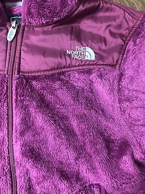 b9641baef NEW WOMEN'S THE North Face Oso Hooded Fleece Jacket Black Grey Pink ...