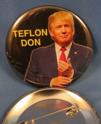 Wholesale Lot Of 12 Teflon Don  Trump Campaign Buttons Keep America Great 2020