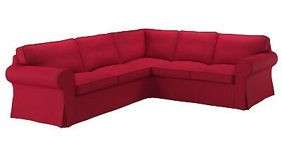 Ikea EKTORP 4-Seat Sofa (2+2) COVER ONLY Nordvalla Red - NEW in Package