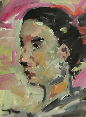 JOSE TRUJILLO OIL PAINTING Portrait IMPRESSIONISM FAUVISM LOOSE BRUSH STYLE ART