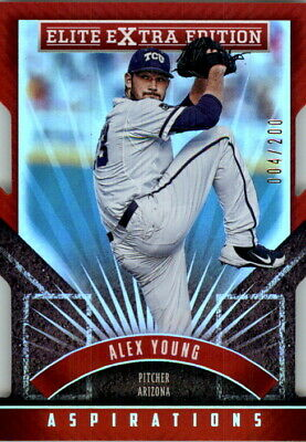 2015 Elite Extra Edition Aspirations Die Cut #44 Alex Young /200
