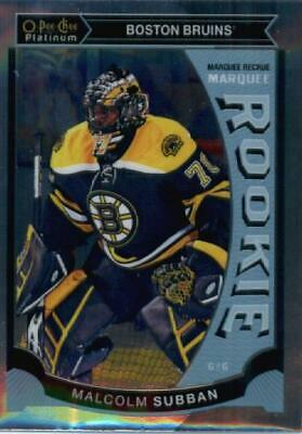 2015-16 O-Pee-Chee Platinum Marquee Rookies #M5 Malcolm Subban