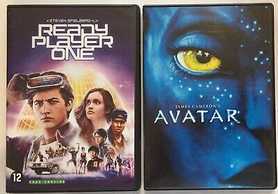 Lot 2 Dvd - Ready Player One + Avatar