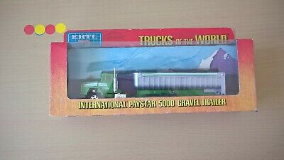 Ertl - Trucks Of The World - Internationnal Paystar 5000 Gravel Trailer