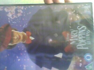 Disney's MARY POPPINS RETURNS DVD (2019) : Emily Blunt. New Sealed Free Post