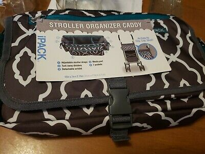 Skip Hop Grab Go Stroller Organizer Bag Caddy Black
