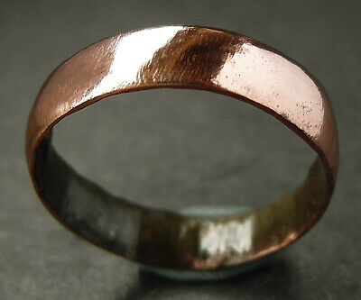 Genuine Medieval paupers bronze wedding ring - wearable