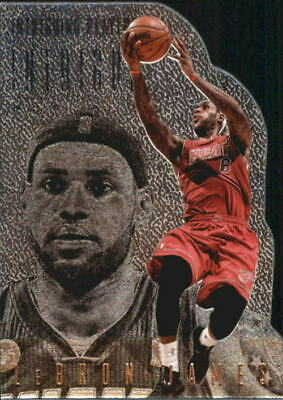 Lebron James #5 Cavaliers Heat 2013//14 Panini Intrigue Intriguing Players Silver