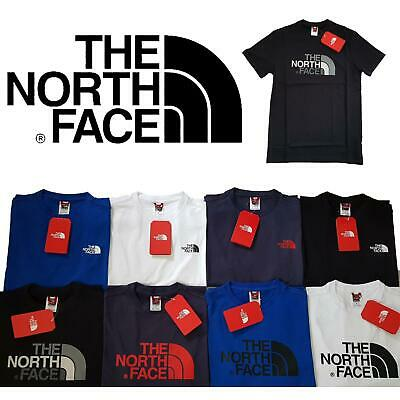 The North Face Mens Crew Neck Short Sleeve T-Shirt Size S M L XL XXL