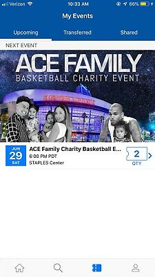 Ace Family Charity Basketball Event Tickets