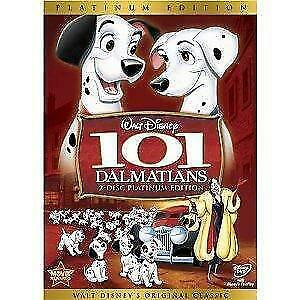 101 Dalmatians (DVD 2-Disc Platinum Edition W/ Slipcover) NEW Free SAME Day Ship