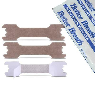 100/bag 6.6*1.9cm Ventilated Nose Stick Stop Plaque For Relieving Snoring Strips