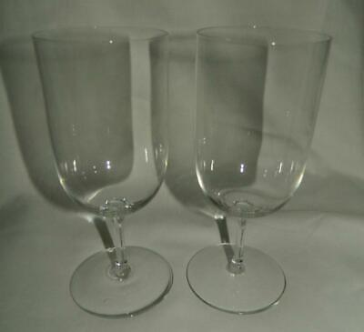 2 Baccarat Crystal Perfection Tasting Glasses Claret Red Wine 6 1/4""
