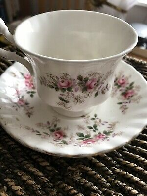Royal Albert Cup And Saucer Lavender Rose