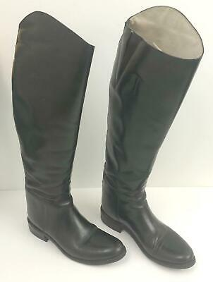 63b82ca85ee69 EFFINGHAM BOND BOOT Co. 100M Womens Tall Leather Riding Boots 9.5 ...