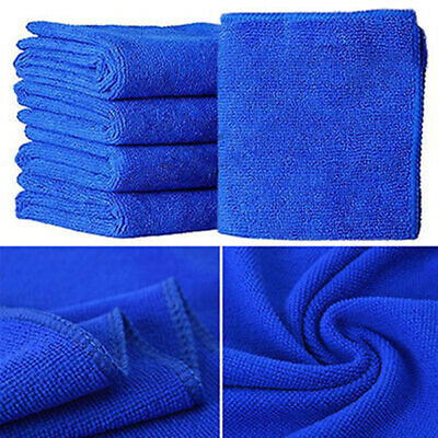 10Pcs Microfiber Kitchen Wash Car Cleaning Towel Home Dry Polishing Duster Cloth