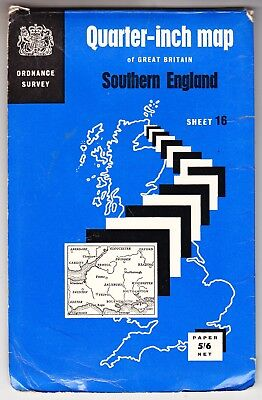 Ordnance Survey Quarter Inch Map: Southern England
