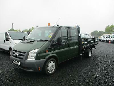 2010 Ford Transit 115 T350 Crew Cab Dropside Diesel Pick Up ( Only 86K )