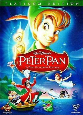 Peter Pan DVD 2-Disc Set Special Platinum Edition Disney Free SAME Day Ship NEW