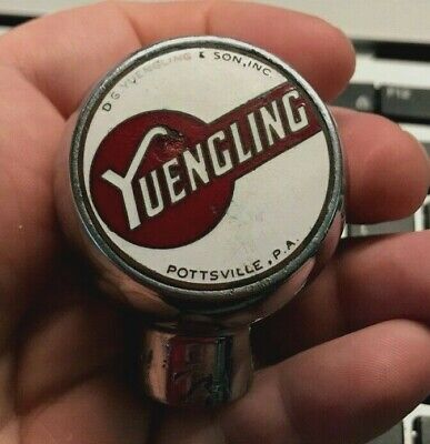 Vintage Yuengling Beer - Brewing Co Ball Tap Knob Handle Pottsville Pa
